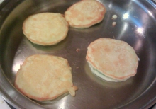Apple Ring Pancakes, Believe It Or Not!