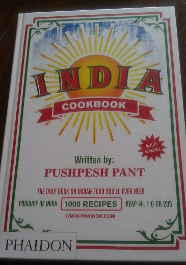India Cookbook by Pushpesh Pant