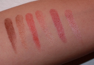 Misfit Mama Reviews:  Blastflipstick by CoverGirl (Vixen, Stunner, and Minx)