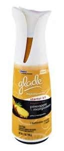 Misfit Mama Reviews:  Glade Expressions Air Freshener - Pineapple Mangosteen